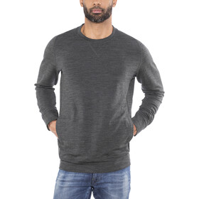 Icebreaker Shifter LS Crewe Shirt Men jet hthr